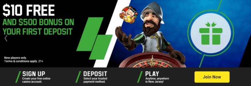 Unibet casino Bonuses