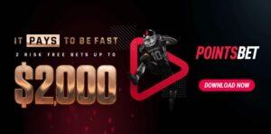 PointsBet Sportsbook Risk Free Bets