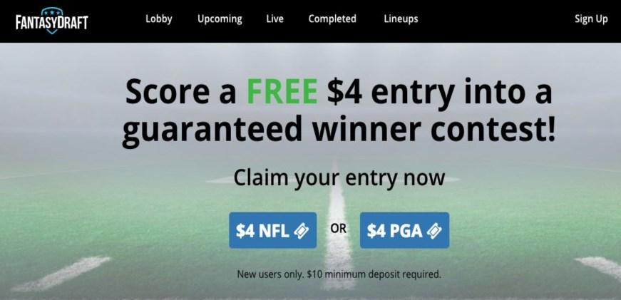 FantasyDraft DFS Online Betting