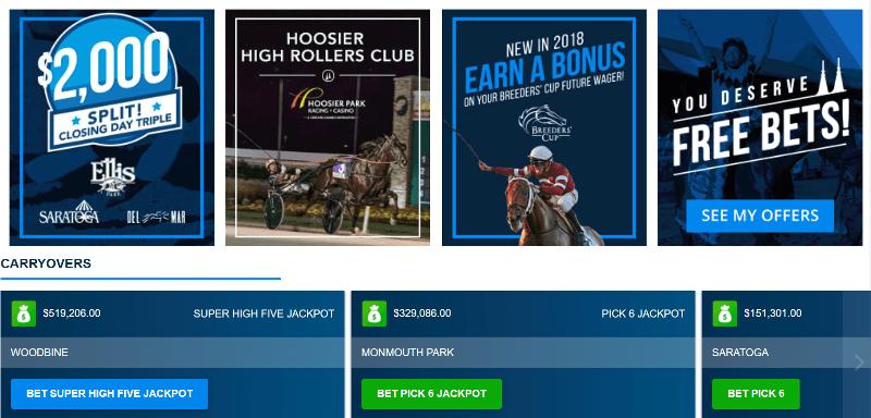 Twinspires Online Racebook