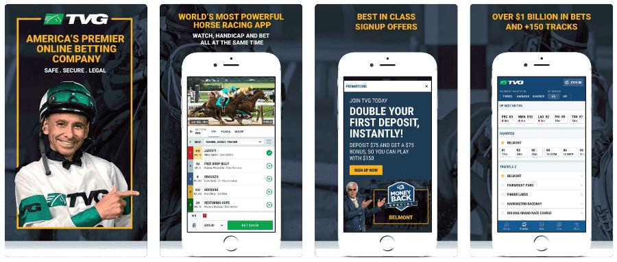 TVG Racebook Online Betting App